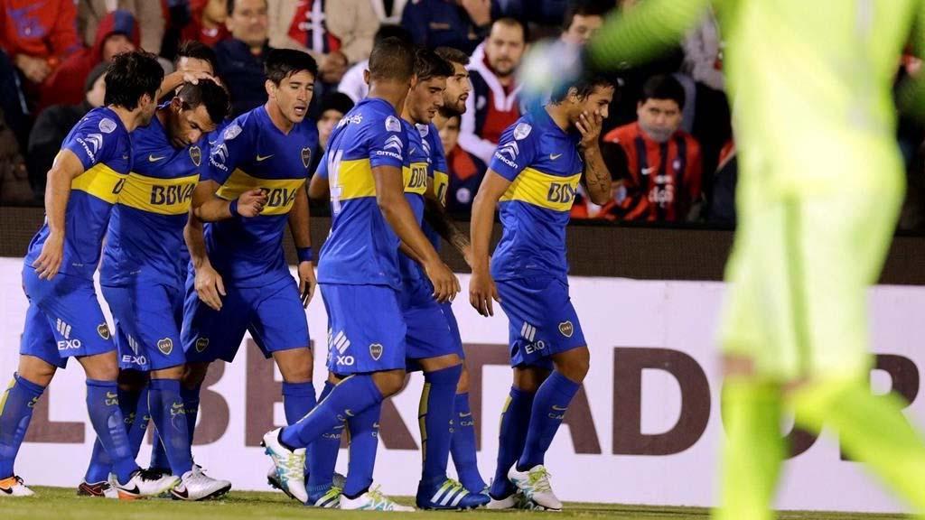 Boca calló bocas y ganó de visitante ante Cerro Porteño