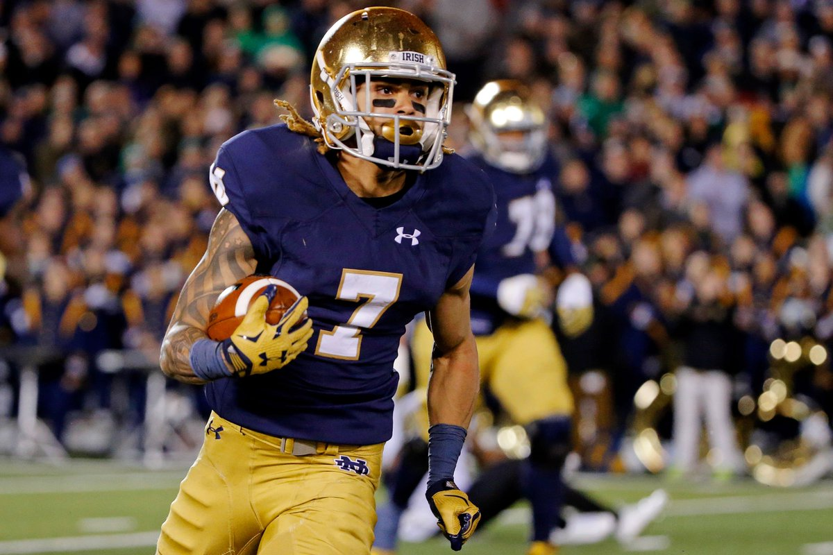 The @HoustonTexans trade up to select Notre Dame WR Will Fuller with the 21st pick NFLDraft