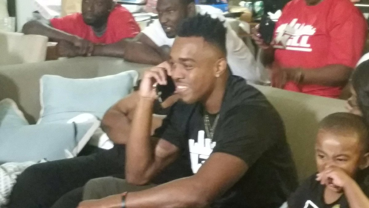 Former @UHCougarFB CB William Jackson III gets the call from Cincinnati who used 24th pick in 1st round to get him