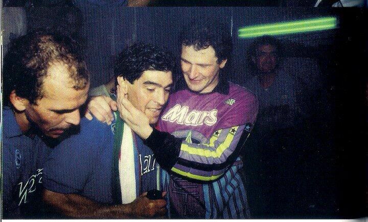 La storia di Giuliano Giuliani, il portiere di Maradona