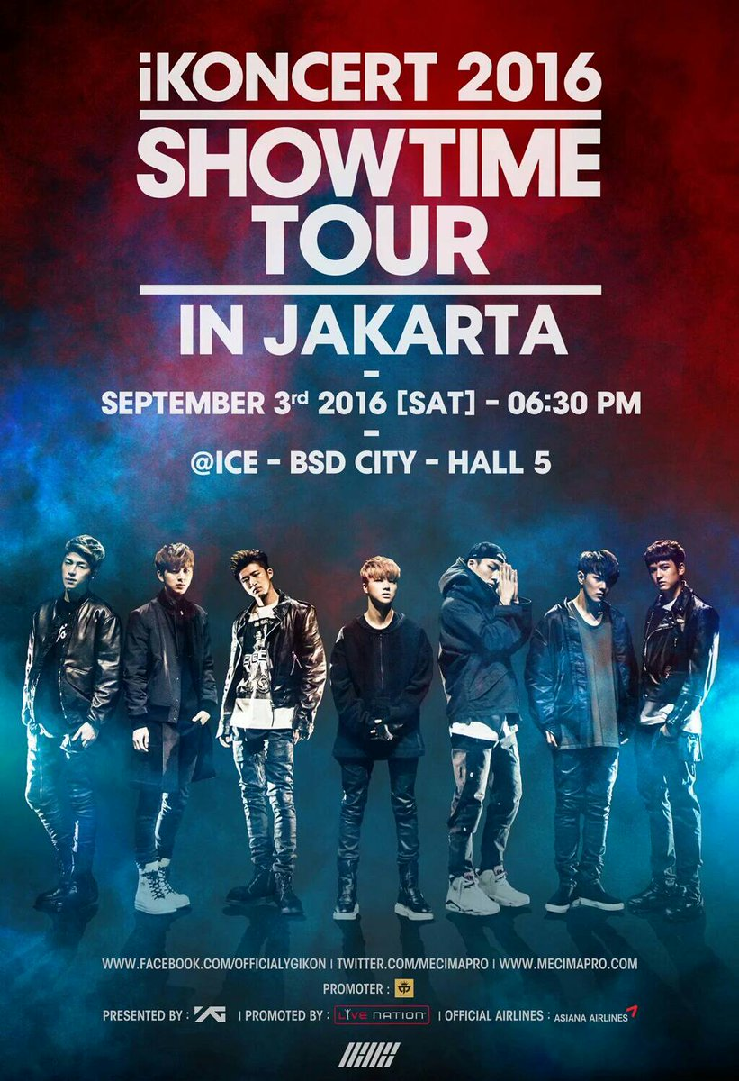 [KOMPETISI] FREETIX iKONCERT 2016 SHOWTIME TOUR
