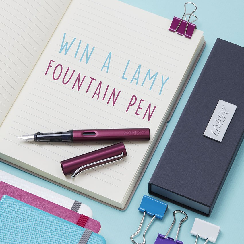Want to Win a Lamy Fountain Pen? Why do you prefer handwriting to digital? Follow & RT to win. #FreebieFriday https://t.co/QdhXSSgoTI