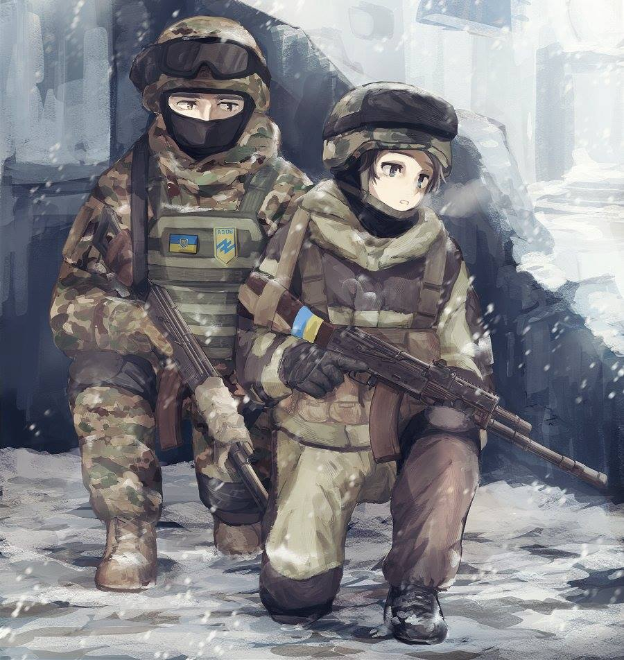 "Alya Shandra on Twitter: ""Ukrainian soldiers now in anime ..."