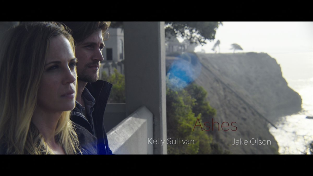 @KellySullivanNY Poster for our short film starring the beautiful and talented Kelly Sullivan and @Jake0lson. #Ashes https://t.co/xVJeGAaUzf