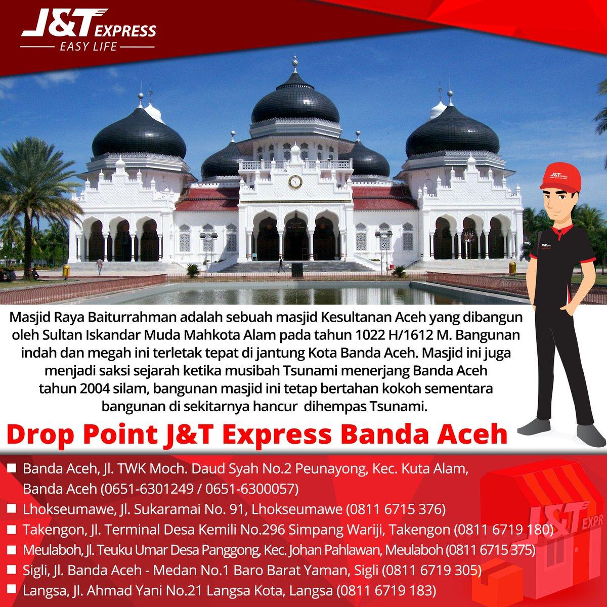 J T Express Indonesia On Twitter Warga Banda Aceh Dapat Menghubungi Drop Point Terdekat Dari Rumah Anda Jtexpressid Dpbandaaceh