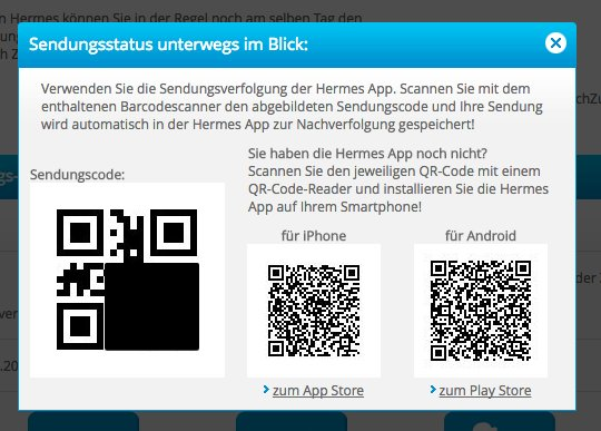 One for @brad_frost: Scan one of the two right QR codes to get an app to scan the left QR code to track yr delivery. https://t.co/qq5x8NGC48
