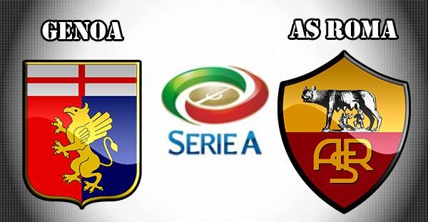 GENOA ROMA Streaming , vedere gratis Diretta Calcio LIVE TV Oggi