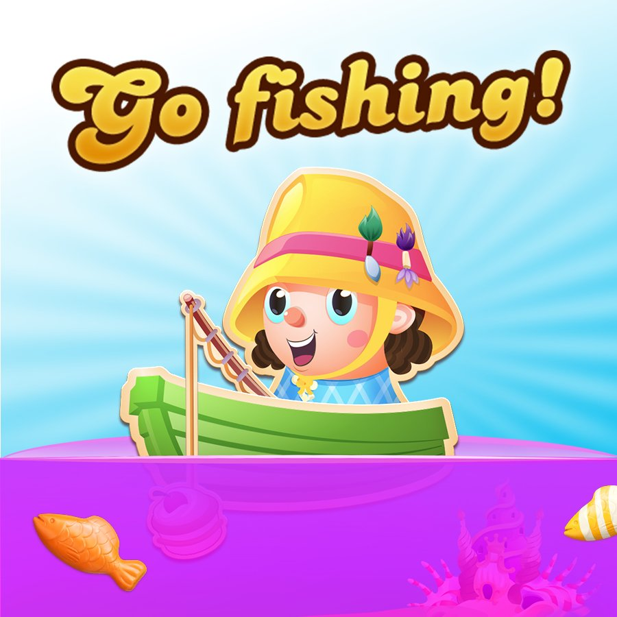 Candy crush soda on twitter new event reel in rewards for Candy crush fish