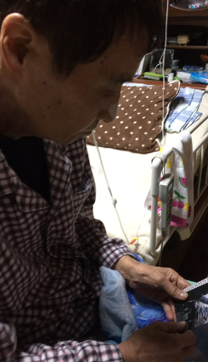 On Sunday, Mr Hata held photos T sent of his daughter's JHS entrance ceremony. He studied his granddaughter's face. https://t.co/rUhHVIXP5J