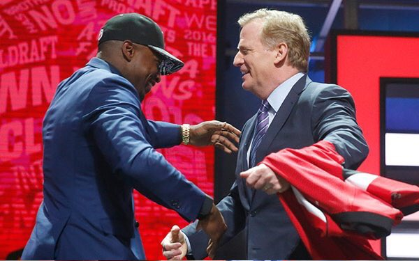Cheap NFL Jerseys Wholesale - Reaction to Falcons' pick Keanu Neal | www.ajc.com