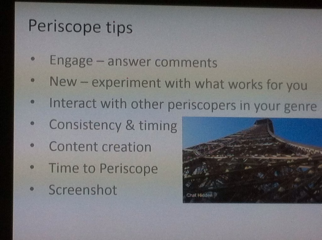 @BoopFashionista #periscope @MojoConIRL Peroscope Tips https://t.co/dxRZbdq80K