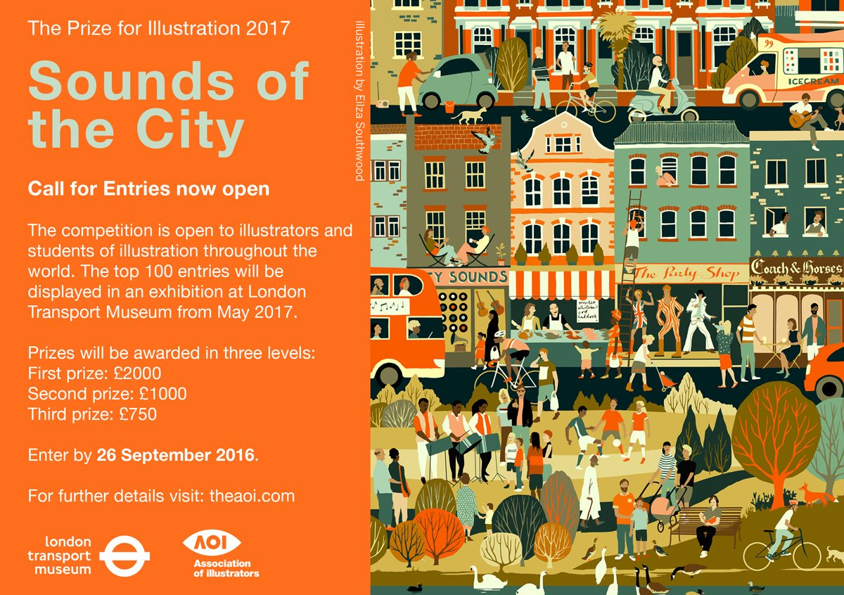 Awards - The Prize for Illustration 2017 with @ltmuseum is now open for submissions! https://t.co/WqmCSVyCP7 https://t.co/NsSrQ9wvMO