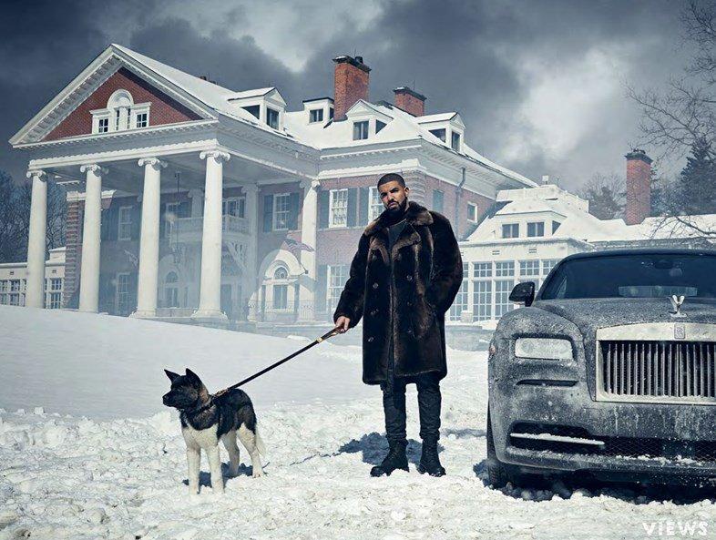 .@Drake releases amazingly bizarre Views photobook: https://t.co/vqLptRTcjX https://t.co/OBVPwd0oPL