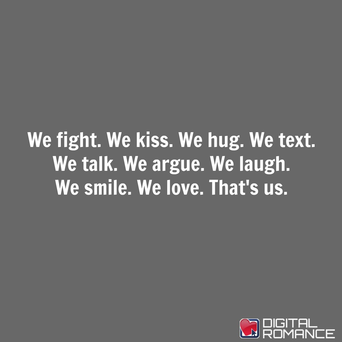 We fight we love quotes