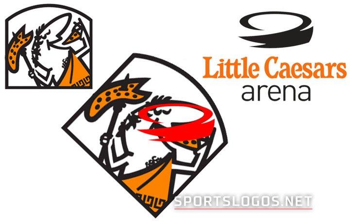 """chris creamer on twitter: """"little caesars arena logo meant to"""