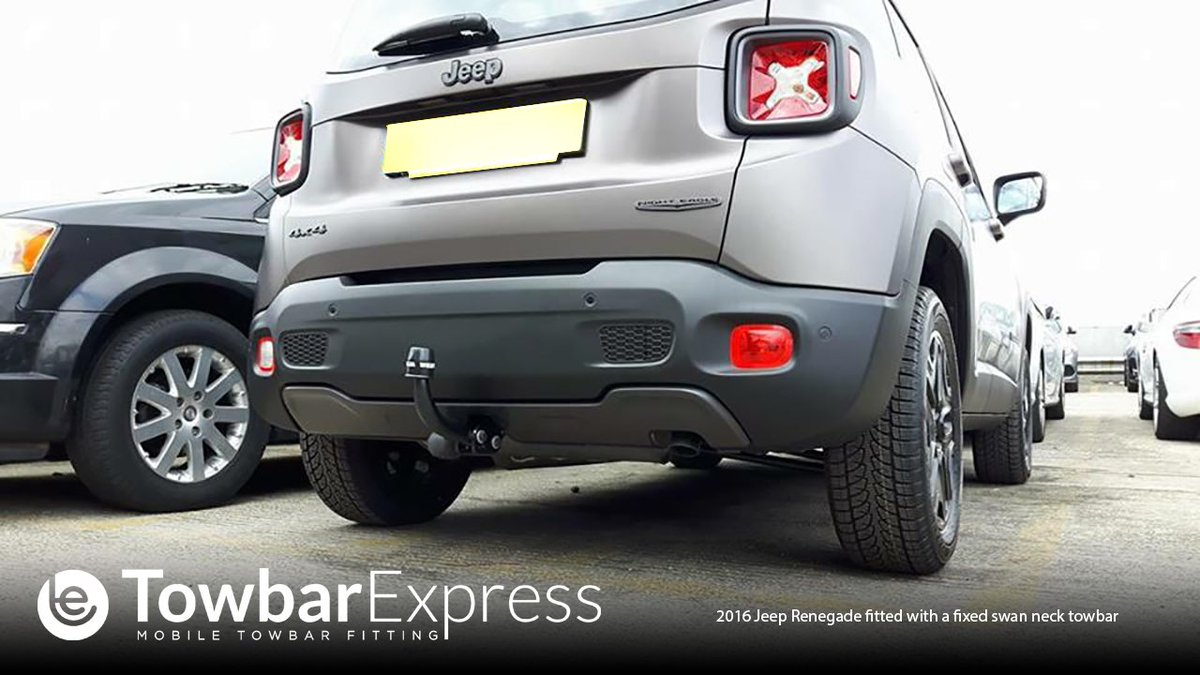 Towbar Express On Twitter Look How Good This Jeep Renegade Looks With A Swan Neck Towbar