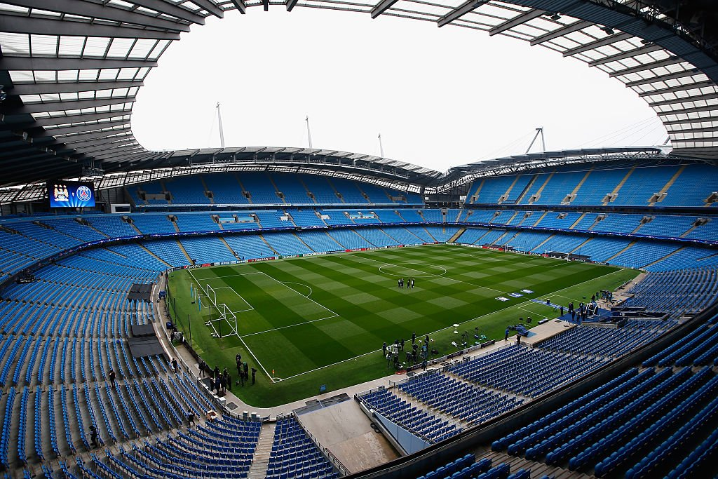 """City Of Manchester Stadium: UEFA Champions League On Twitter: """"...The City Of"""