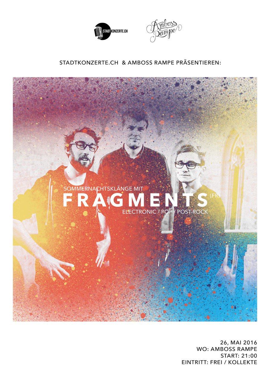 Stadtkonzerte.ch und Amboss Rampe präsentieren: Sommernachtsklänge mit Fragments (fr)