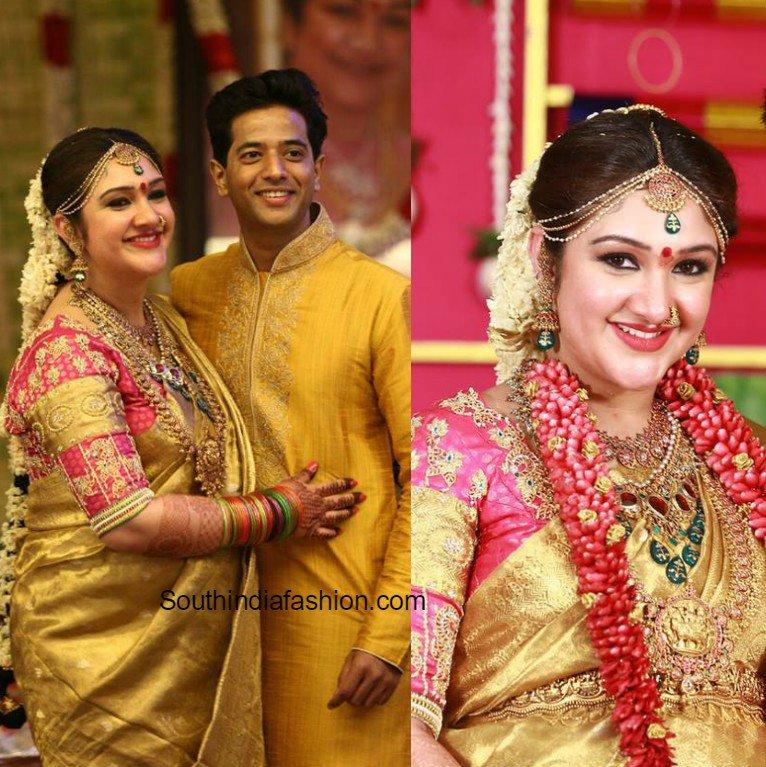 South India Fashion On Twitter Sridevi Vijaykumar S Baby Shower Https T Co 12r3cnawmz