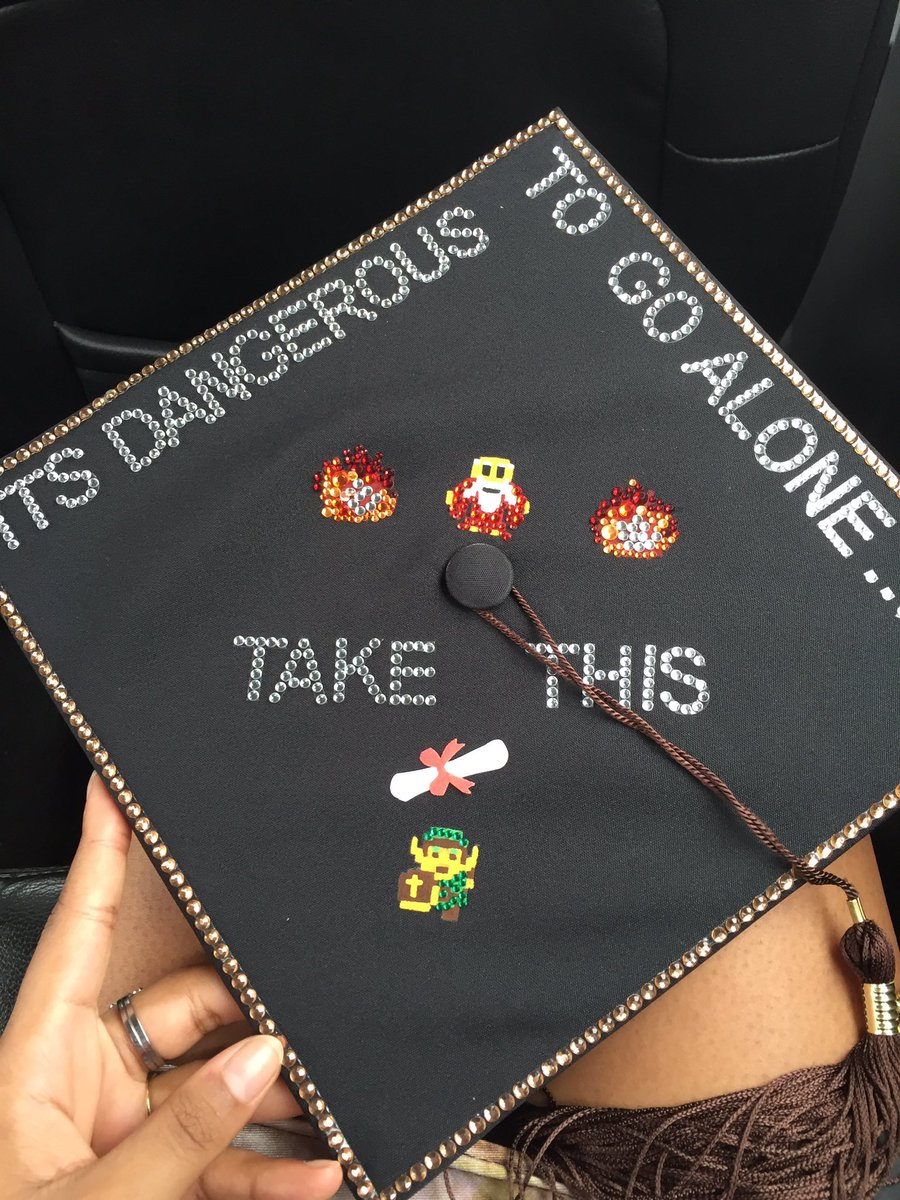 Mica Burton On Twitter Graduation No 1 Ootd Lord Of The Rings Dress And The Legend Of Zelda Cap Feelin The Adventure Vibes