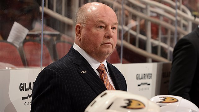 #NHLDucks have relieved Head Coach Bruce Boudreau of his duties, Executive Vice President/GM Bob Murray announced. https://t.co/aFAH2XhR9x