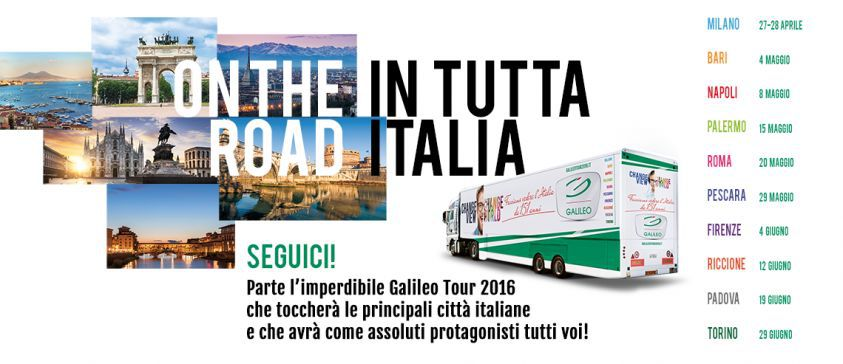 A Napoli Domenica 8 maggio: Tappa del Giro D'Italia per la Salute della Vista