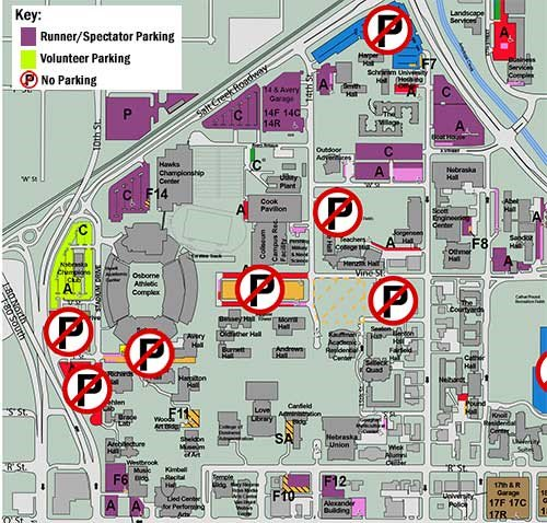 Unl Parking Map UNL Parking & TS on Twitter: