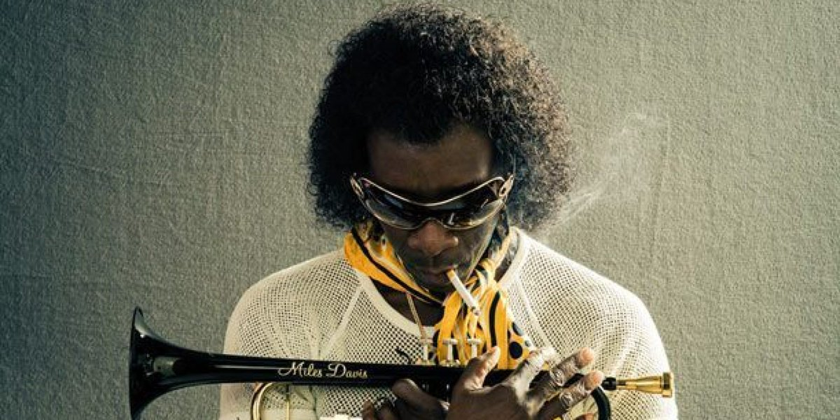 Go see @MilesAheadFilm w/ my man @DonCheadle already. Not sure what's more gangster: Miles, or DC's portrayal... :) https://t.co/tE2FsLW80T