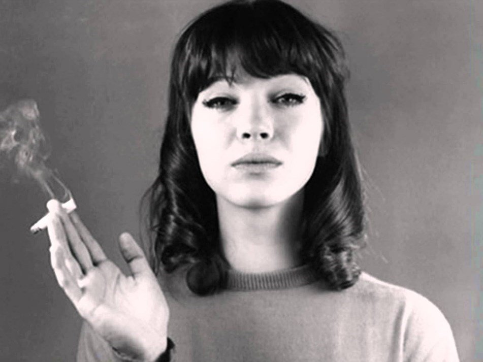 """""""Every movie has to have a little sexy in it or who's going to go & see it?"""" – Anna Karina: https://t.co/QkWtsqiKN6 https://t.co/47L5Q0O3RQ"""