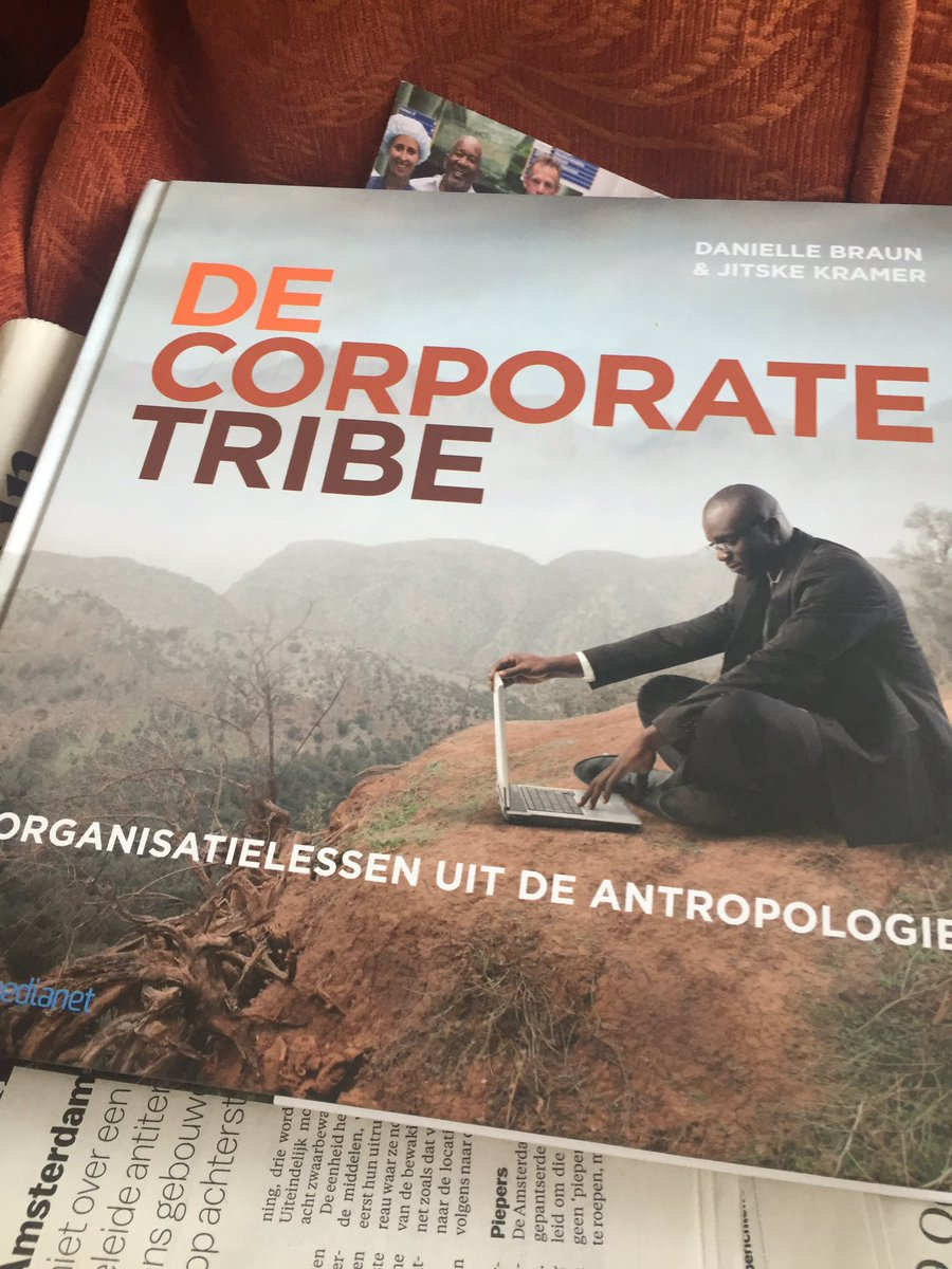Really enjoying The Corporate Tribe, lessons about organizations from anthropology. A great combo. https://t.co/kW5NKsJclI
