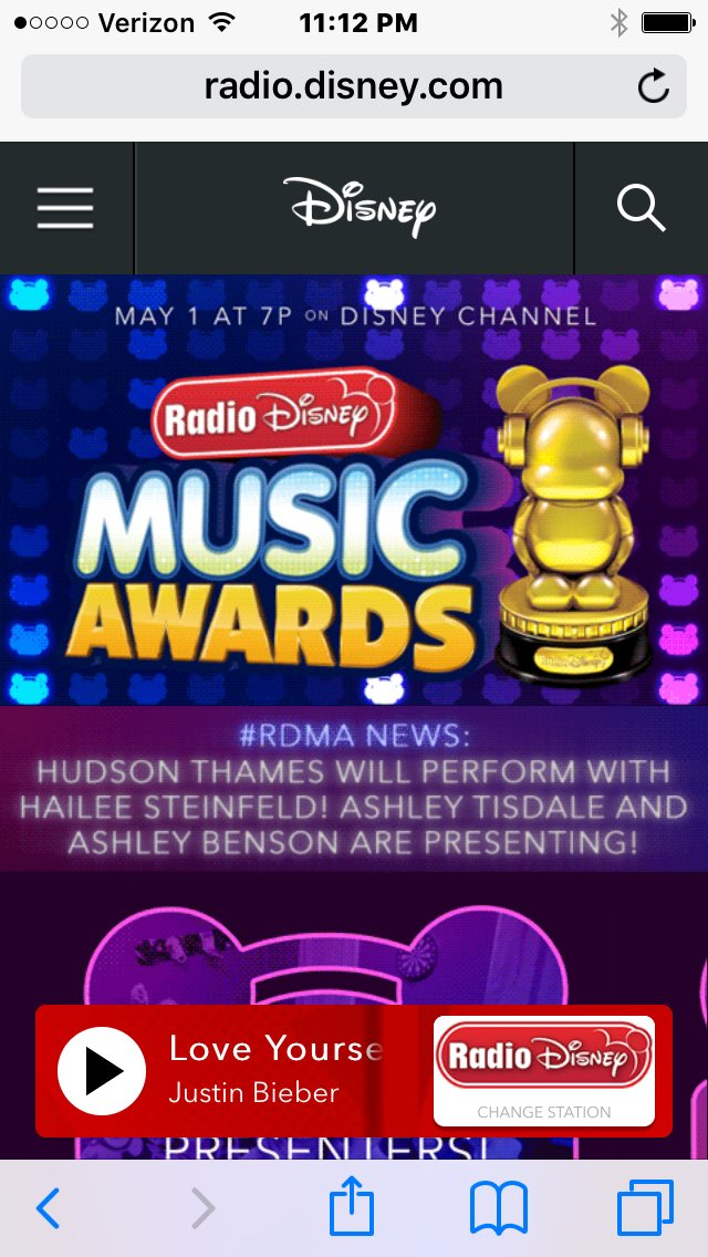 Stoked to say I'll be performing with @HaileeSteinfeld at the #RDMA 's on Saturday!!! https://t.co/Bz8hIvtOWU