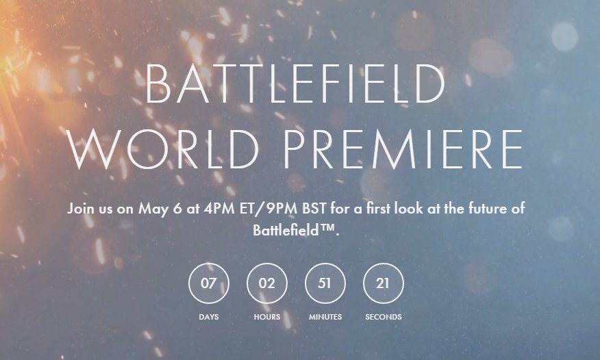 Battlefield 5 To Be Revealed Next Week 3