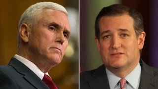 Indiana Governor Mike Pence endorses Ted Cruz