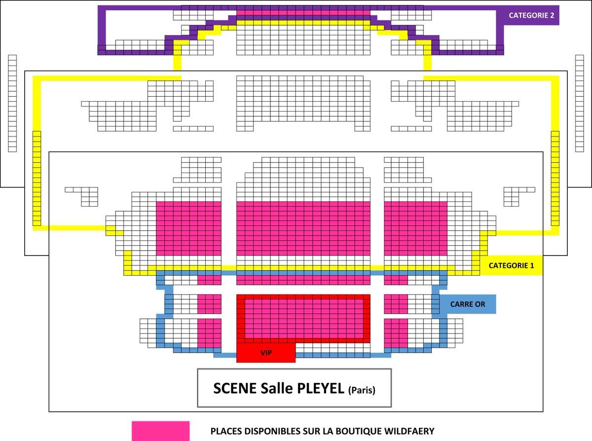Finaland On Twitter Plan De La Salle Pleyel Pour Le Concert