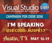 Visual Studio Live! Austin 2016