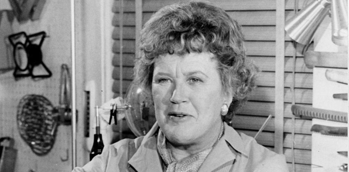 You think you know how to make an omelet until Julia Child is looking over your shoulder