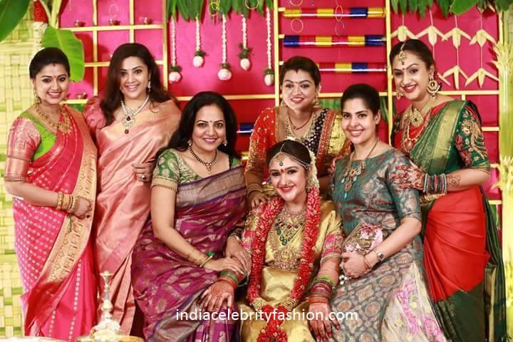 India Celeb Fashion On Twitter Sridevi Vijaykumar Baby Shower