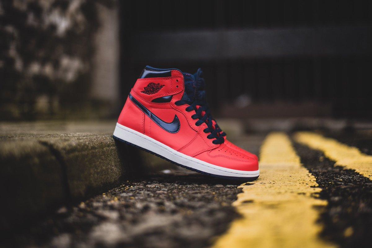 "b9a7e197da63d5 Nike Air Jordan 1 High ""Light Crimson"" is available to buy ONLINE now!   hanon ..."