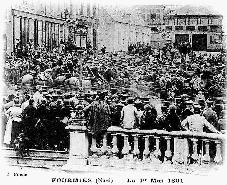 14)Le 1er mai 1891, à Fourmies, dans le Nord, en France, la manifestation tourne au drame https://t.co/50INrdPdUG