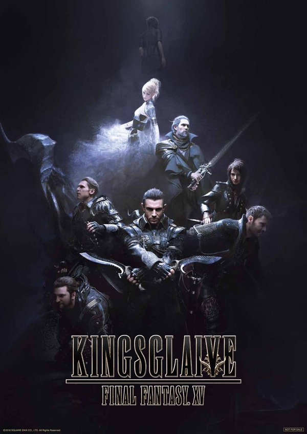 Kingsglaive: Final Fantasy XV Japanese Theatrical Trailer & Voice Actors Revealed 1