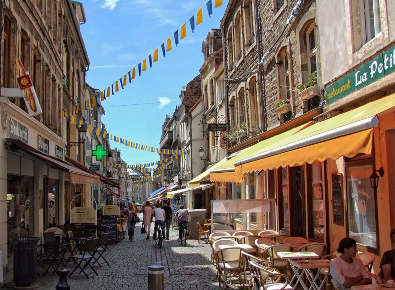 """The Good Life France on Twitter: """"Beautiful old Boulogne-sur-Mer, Charles Dickens loved this ..."""
