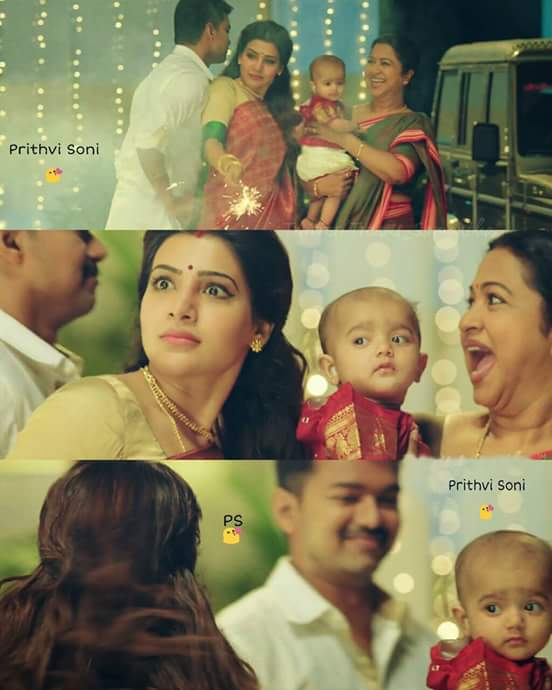 """Theri Movie Images With Quotes: SS Music On Twitter: """"#Ilayathalapathy #SamanthaRuth"""