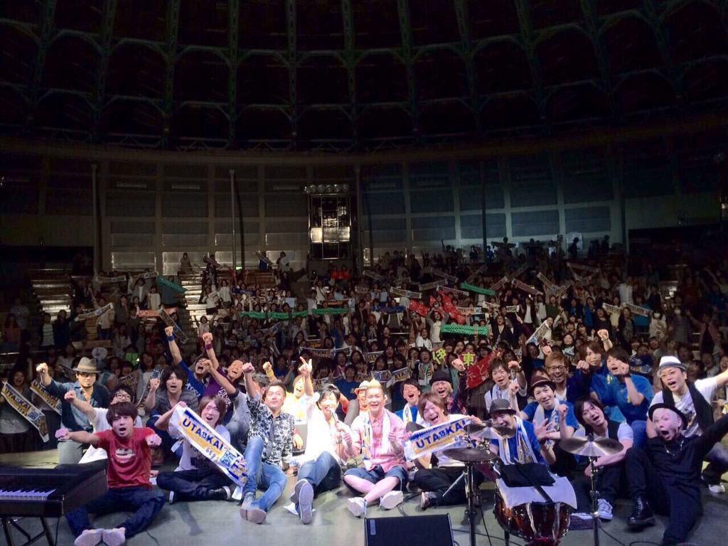 【拡散希望】 明日  5/1 17:00〜 開催日の5ヶ月前   2016.10.1 土 別冊UTA-KAI 上野水上野外音楽堂 第1弾アーティスト発表いたします キャパは「1000人」 もちろん目指すは満席☆ 14年目の開催です。 https://t.co/AbzxwfjU6v
