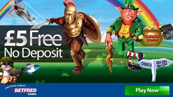 Betfred £5 free no deposit bonus for UK customers