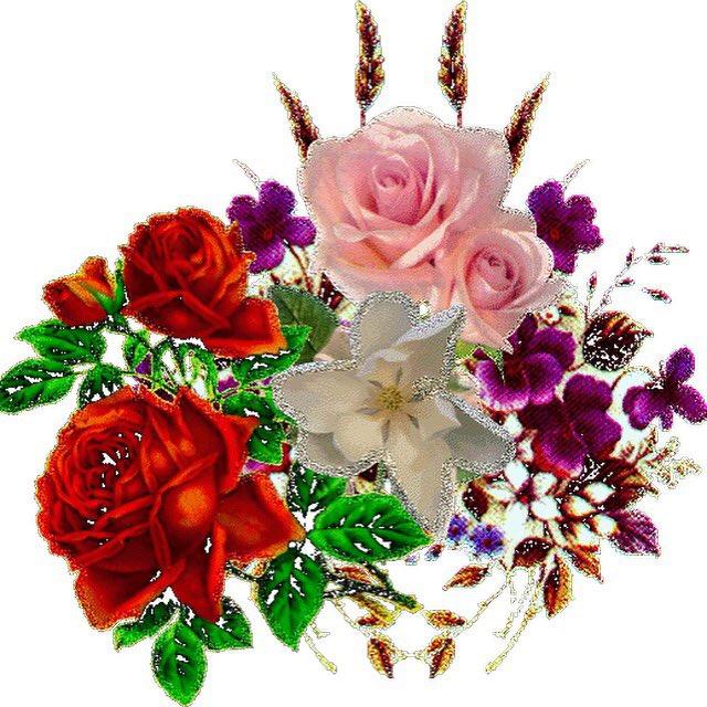 Гиф картинка с цветами, картинки