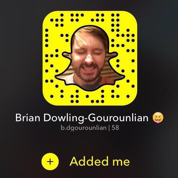 Brian quinn snapchat