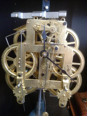 The most brass gears in Lowell? The clock shop at 307 Market! #SteampunkSaturday #MillCitySteam #Lowell #steampunk