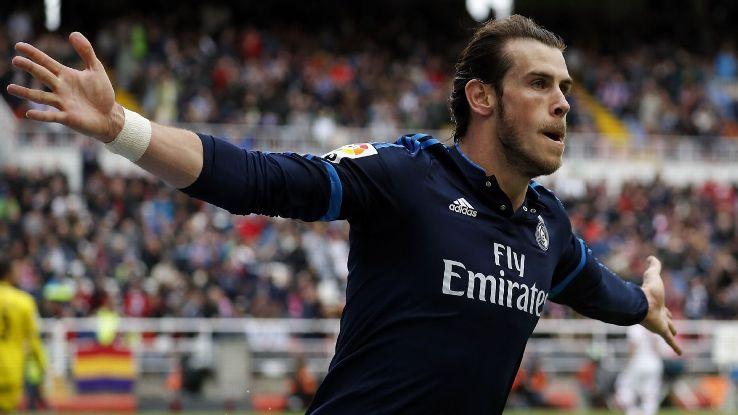 Real Sociedad Real Madrid 0-1, Gol di Bale - 30 aprile 2016