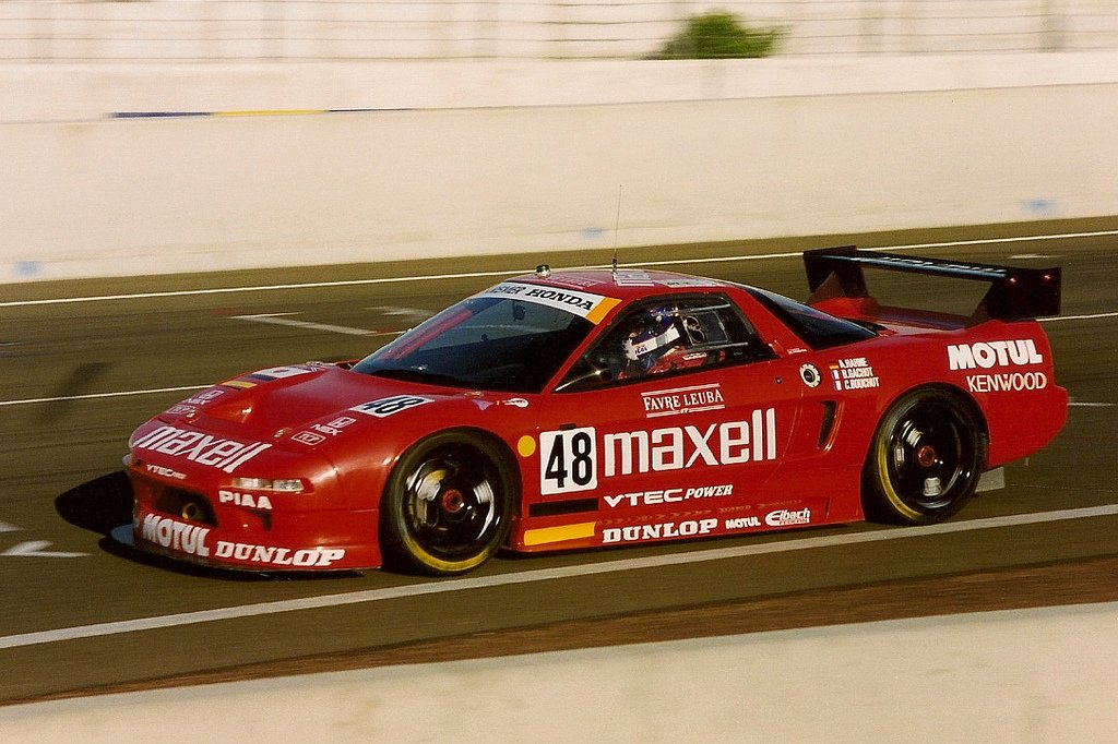 48 days to go until #LeMans 24 Hr. #Honda #NSX #GT2 by Figsbury https://t.co/xN8us9o4Ce