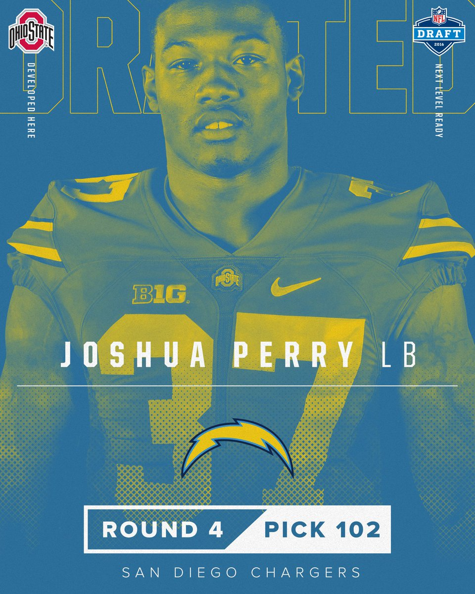 San Diego Chargers Forums: Ohio State - 2012-2015 LB - Josh Perry